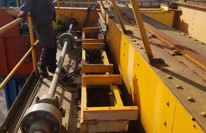 Rekonstruiran pogon mosne dizalice
